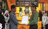 Bộ Công an thăng quân hàm cho đại úy hi sinh khi áp tải nghi phạm về trại tạm giam