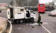 Lật xe ôtô chở phạm nhân, 3 chiến sĩ công an thương vong