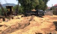 Dẹp 3 bãi tập kết cát lậu gây nhức nhối trên dòng sông Gianh