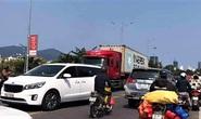 Đi theo google map, tài xế cho xe container chạy vượt đường cấm