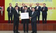 Thaco trao 10 tỉ đồng hỗ trợ Quỹ phòng chống dịch Covid-19