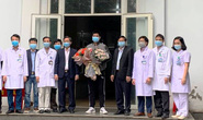 Bệnh nhân Covid-19 thứ 18 ở Ninh Bình hoàn toàn khỏe mạnh xuất viện