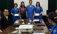 Hà Nội: Động viên cán bộ, nhân viên y tế ở tuyến đầu chống dịch