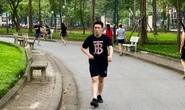 Nhiều người tập thể dục Hà Nội vẫn không đeo khẩu trang nơi công cộng
