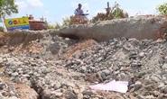 Kiên Giang: Sụt lún nhiều đoạn trên Tỉnh lộ 965