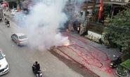 Biện pháp tố tụng mới với 2 đối tượng đốt gần 50 m pháo trong đám cưới
