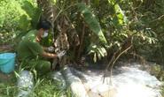 Bắt quả tang DN giặt ủi hoành tráng ở Phú Quốc xả thải ra môi trường