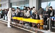 Gần 1.800 công dân từ Hàn Quốc về sân bay Vân Đồn được cách ly
