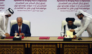 Ông Trump vừa khoe quan hệ tốt đẹp với Taliban, Afghanistan bị dội bom