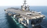 Siêu tàu sân bay Mỹ  USS Theodore Roosevelt  đã vào đến vịnh Đà Nẵng