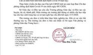 3 ngày, Bình Định 3 lần điều chỉnh cho học sinh nghỉ học để phòng chống dịch