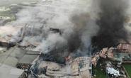Cháy lớn tại khu xưởng rộng hơn 1.000 m2 trong khu công nghiệp