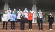 Nữ điều dưỡng Bệnh viện Bạch Mai cùng 8 bệnh nhân Covid-19 được công bố khỏi bệnh