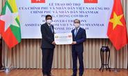 Việt Nam trao quà trị giá 50.000 USD hỗ trợ Myanmar
