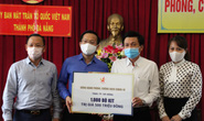 Ủng hộ máy trợ thở và 1.000 bộ kit xét nghiệm SARS-CoV-2 tuyến đầu chống dịch ở Đà Nẵng
