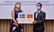 Trao tặng Thụy Điển 100.000 khẩu trang để chống dịch Covid-19