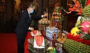 Lãnh đạo TP HCM dâng hương Giỗ Tổ Hùng Vương