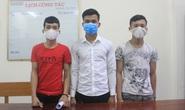 Bắt 3 thanh niên nhau gây ra nhiều vụ cướp điện thoại