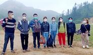 8 người nhập cảnh Hà Giang trái phép từ Trung Quốc
