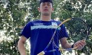 Chờ Pleiku gỡ bỏ lệnh cấm tập thể thao, cầu thủ HAGL chọn đánh tennis trong lúc giãn cách