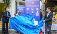 Báo Người Lao Động khai trương cây ATM thực phẩm miễn phí tại Hà Nội
