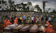 Covid-19: Thế giới hơn 200.000 người chết, Brazil như trong phim kinh dị