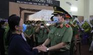 Nghẹn ngào lễ viếng hai công an Đà Nẵng hy sinh khi truy đuổi tội phạm