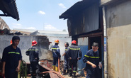 TP HCM: Khu nhà tạm của một doanh nghiệp bốc cháy, cả khu dân cư đông đúc hoảng sợ