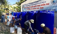 Bộ TN-MT lắp trạm cấp nước ngọt miễn phí cho hàng ngàn hộ dân Bến Tre