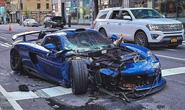 Siêu xe Porsche cực hiếm nát đầu ở New York