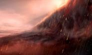 Kinh ngạc hành tinh lạ có bầu trời vàng và mưa sắt