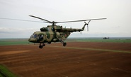 Rơi trực thăng quân sự Nga, không một ai sống sót