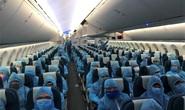 Chuyến bay đưa 340 công dân từ Ấn Độ về nước hạ cánh tại sân bay Cần Thơ