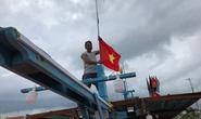 """""""Một triệu lá cờ Tổ quốc cùng ngư dân bám biển"""": Vươn khơi cùng cờ Tổ quốc"""
