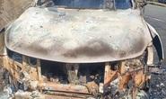 Phát hiện thi thể trong xe bán tải cháy trơ khung: Xe của bí thư xã