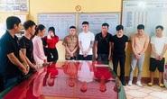 Bắt 13 nam, nữ thanh niên đang bay lắc ma túy trong quán karaoke