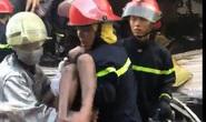 Vụ cháy chưa rõ nguyên nhân ở Bình Tân (TP HCM): 2 cháu bé tạm qua nguy hiểm