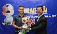 Hết cách ly, Phạm Đức Hòa vui mừng nhận danh hiệu Quả bóng Đồng 2019