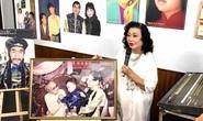 Kim Cương, Thành Lộc và đông nghệ sĩ ngôi sao đến với triển lãm Sắc màu sân khấu