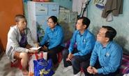 Động viên tinh thần công nhân bệnh hiểm nghèo