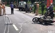 Tai nạn giữa xe tải và xe máy, 1 người chết tại chỗ