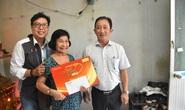 Mai Vàng nhân ái thăm nhạc sĩ Nguyễn Tôn Nghiêm và đào võ Thanh Thế
