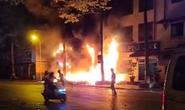 Nhà xe Tâm Hạnh ở Bình Thuận nửa đêm bất ngờ cháy rụi