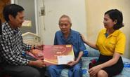Mai Vàng nhân ái thăm NSƯT Lê Trường Tiếu, biên kịch Lê Khanh