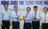 Lãnh đạo TP HCM trân quý từng ý tưởng hiến kế