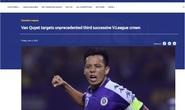 AFC dự đoán Hà Nội FC sẽ có danh hiệu vô địch V-League thứ 3 liên tiếp
