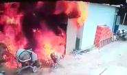CLIP: Cháy xe bồn chở xăng dầu khiến 2 người chết thảm