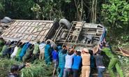 Vụ xe khách lao xuống vực làm 5 người chết: xe lộn nhiều vòng trong tiếng la thảm thiết