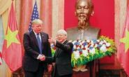 Tổng Bí thư, Chủ tịch nước và Tổng thống Donald Trump chúc mừng 25 năm quan hệ Việt - Mỹ