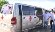 Góp tiền mua xe cứu thương